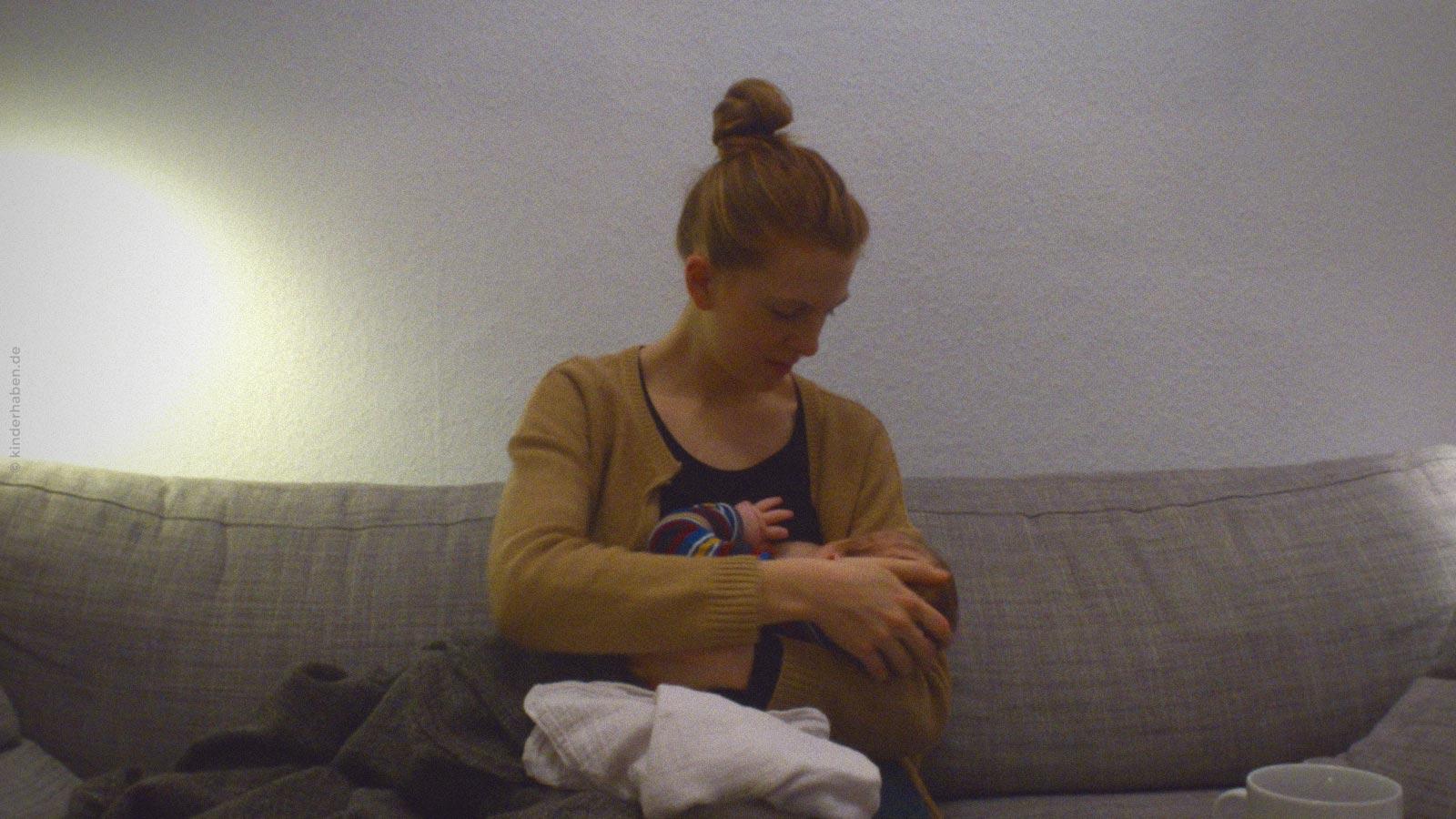 Stillen darf auch weh tun ©kinderhaben.de