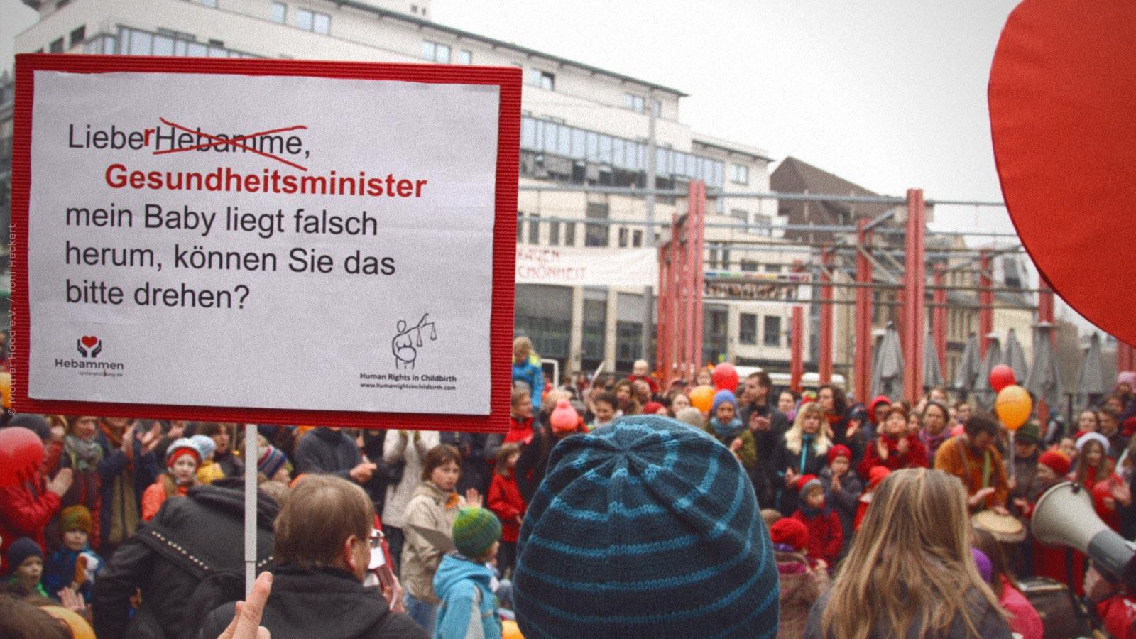 Eltern machen Aufstand ©Mother Hood e.V./Toni Heckert